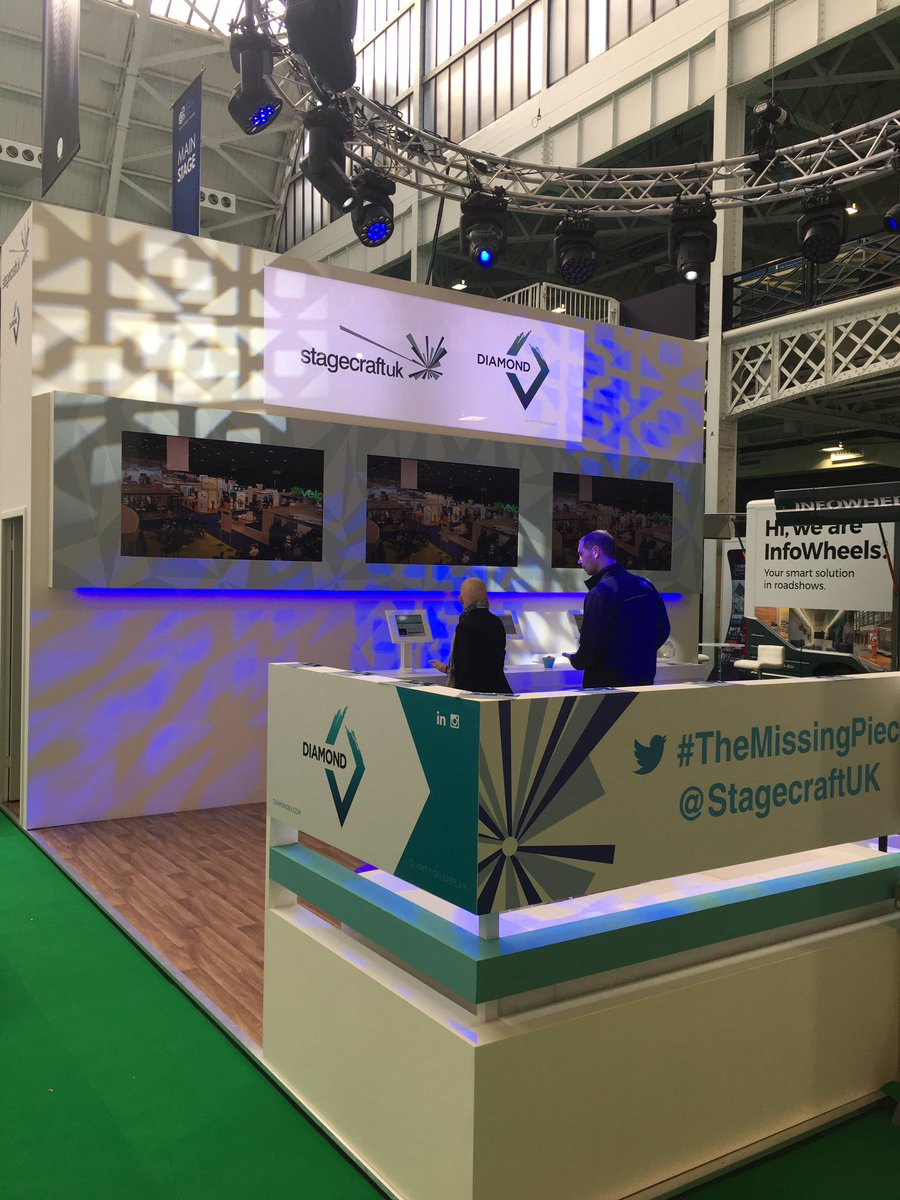 Exhibition Stand Extras : How to successfully exhibit at an exhibition stagecraftuk