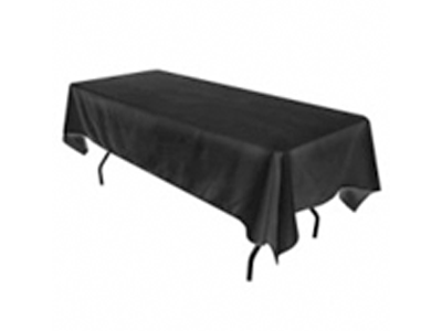 Black Table Cloth - SC13